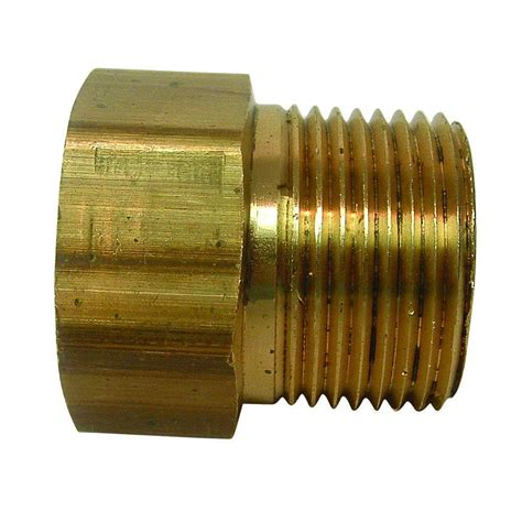 everbilt lead  brass garden hose adapter   fgh