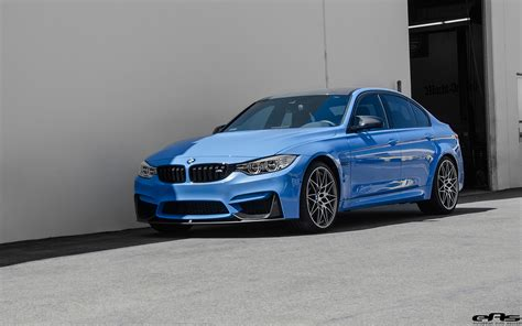 Bmw M3 Blue by Yas Marina Blue Bmw M3 With A Competition Package Gets Ind