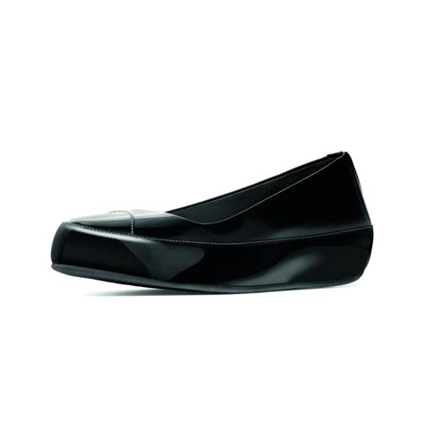 Log In To Win A Longch Black Patent Legende Bag by Buy Womens Fit Flop Due Patent Shoe In Black At Hurleys
