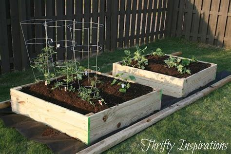 4x4 Garden by Easy Build Your Own 4x4 Raised Beds Do It Yourself Ideas Pint