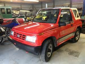 Chevrolet Geo Tracker For Sale Purchase Used 1991 Chevrolet Geo Tracker Auto Air 4x4 Soft