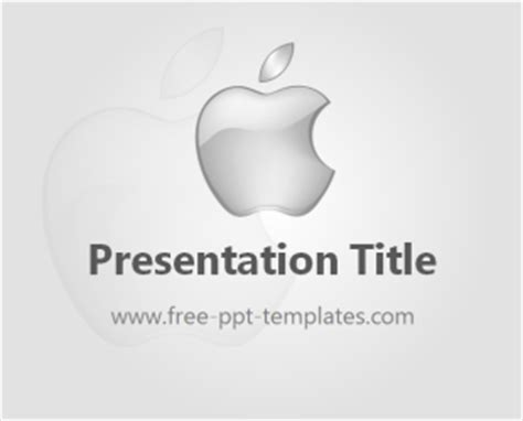 Apple Ppt Template Apple Inc Powerpoint