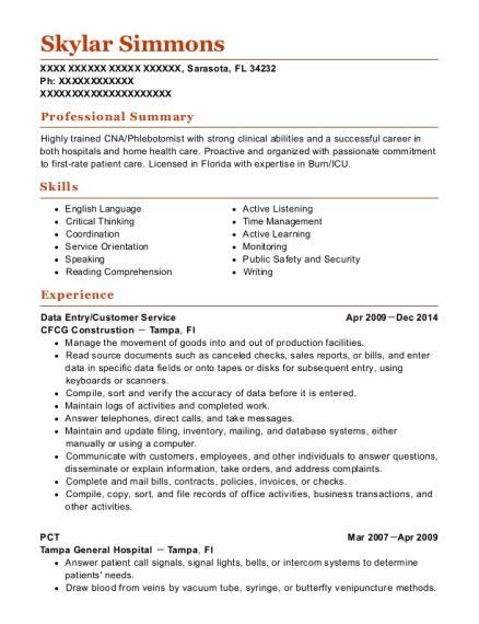 Pct Resume by Best Pct Resumes Resumehelp