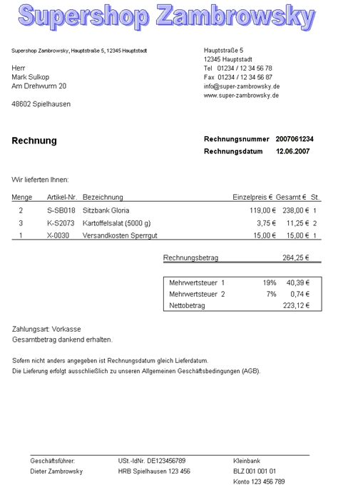 Musterrechnung Baugewerbe File Rechnung Muster 1 Gif Wikimedia Commons