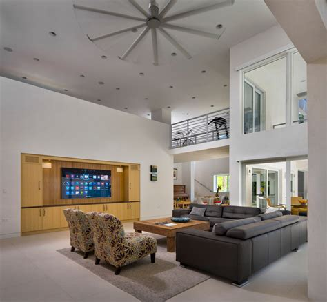isis ceiling fan contemporary living room isis ceiling fan modern living room miami by haiku