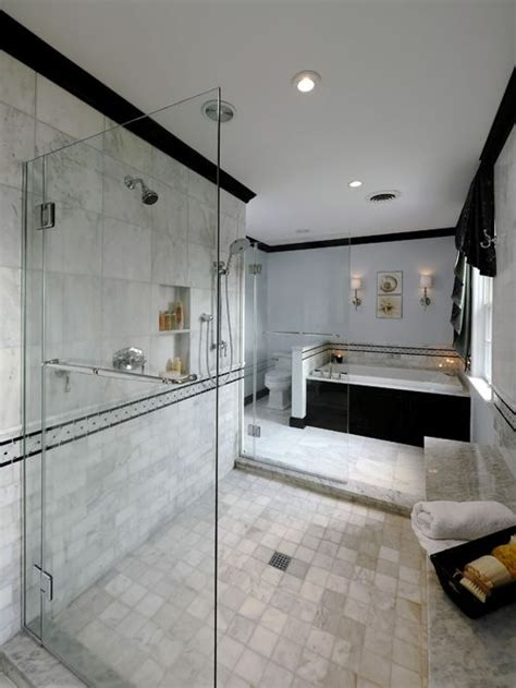 marble tile bathroom home design ideas pictures remodel