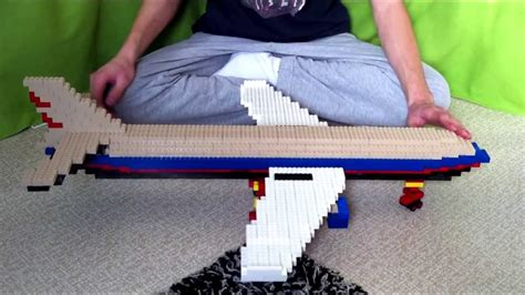 lego airplane tutorial quot tutorial quot build lego airplane youtube
