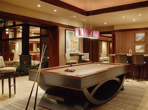 how to decorate a room with a pool table contemporary billiard pool room ideas