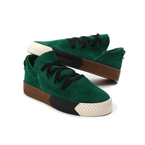 adidas x alexander wang adidas x alexander wang aw skate green sneakers