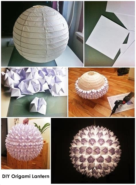 How To Make A Origami Lantern - this origami lantern is so wonderful and easy to craft