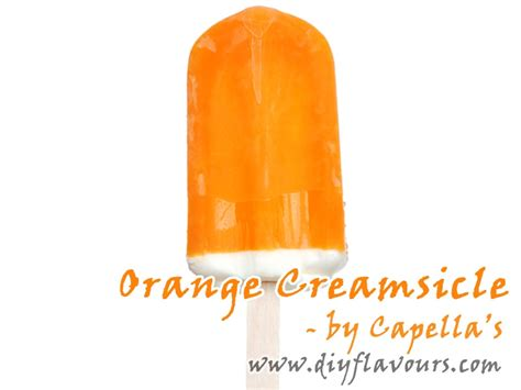 Capella Orange Creamsicle 30ml orange creamsicle flavor concentrate by capella s