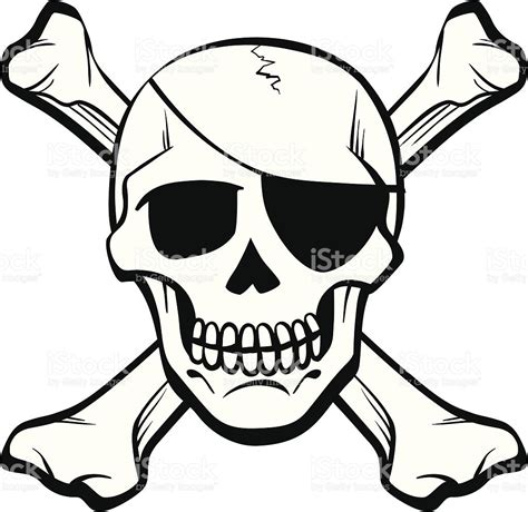skull and cross bones stock vector art amp more images of