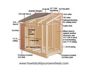 lean to shed designs shed plans kits