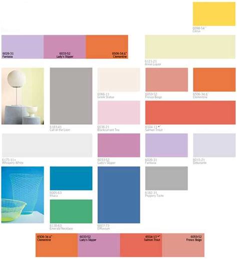 interior color palette modern interior paint colors and home decorating color