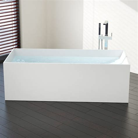 freestanding bathtub reviews rectangular freestanding bathtub model bw 06 l