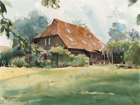 house portrait artist english house portrait hornblower watercolours