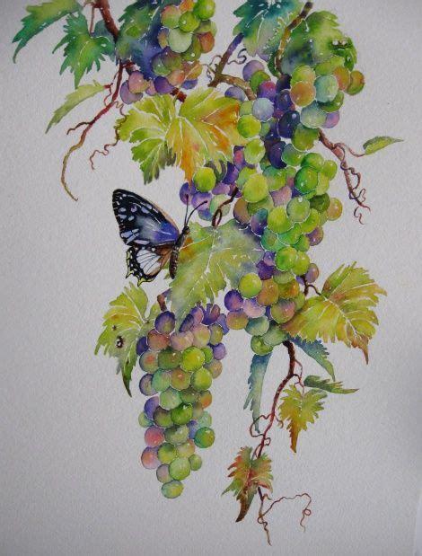 watercolor vine tattoos 277 best grape vine images on grape vines