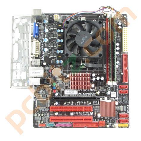 Mainboard Motherboard Am3 Ddr3 Proci Athlon X2 34 Ghz biostar a780l3g socket am3 motherboard athlon ii x2 250 3ghz 2gb ddr3 bundle motherboards