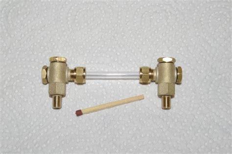 glaszylinder für windlicht wasserstand m6x0 75 glasrohr 216 4 mm 200 410