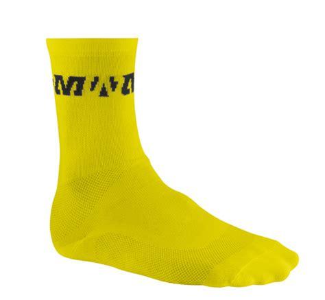 Mavic Sock Race mavic race sock yellow