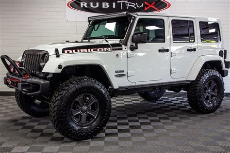 white jeep rubicon 2018 jeep wrangler rubicon recon unlimited white
