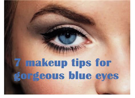 7 Makeup Tips For by 7 Makeup Tips For Blue Amazingmakeups