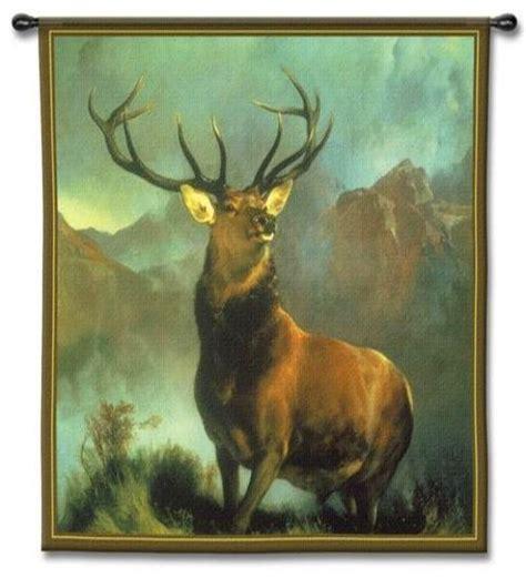 deer tapestry wall hanging monarch   glen