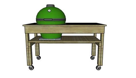 xl big green egg table xl big green egg table plans myoutdoorplans free woodworking plans and projects diy shed