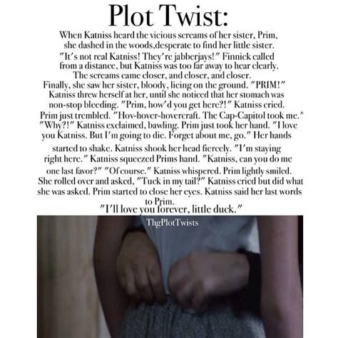 the hunger plot twist by for my thought on this is so sad it s amazing how plot twists or fan