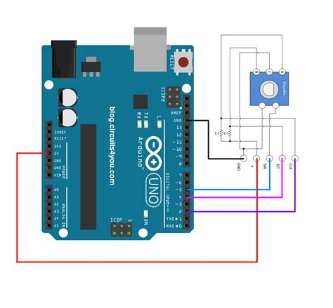 arduino rotary encoder wiring