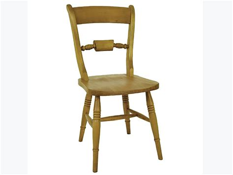 Beech Dining Chair Solid Beech Bar Back Styled Farmhouse Dining Room Chair