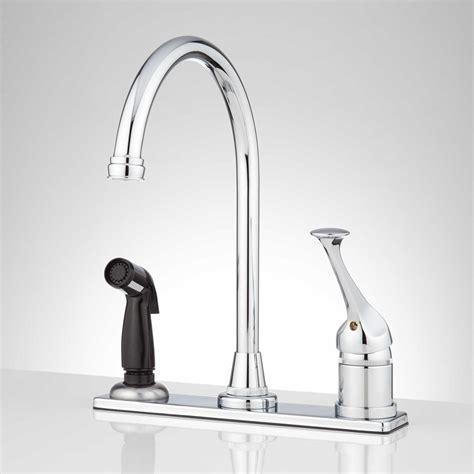 kitchen faucet size no touch kitchen faucet lowe s
