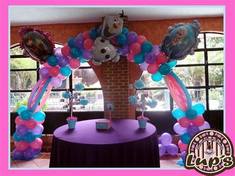 arreglos con globos de frozen pix for decoraciones de frozen newhairstylesformen2014 com