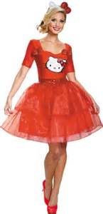 plus size deluxe hello kitty costume costume craze