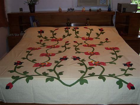 Handmade Bed Sheets - applique bedsheet traditional made bedsheets