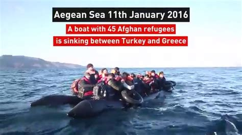 boat r near boat sinking near lesbos this is not a game youtube