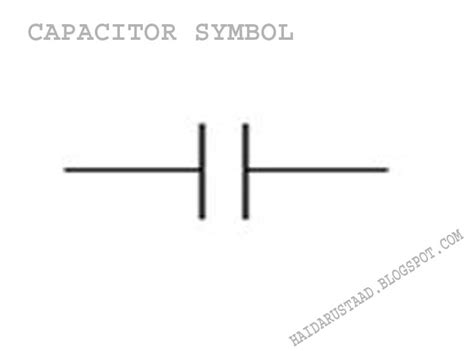capacitor symbol electrical electronic capacitors and it s types 171 electrical and electronic free learning tutorials