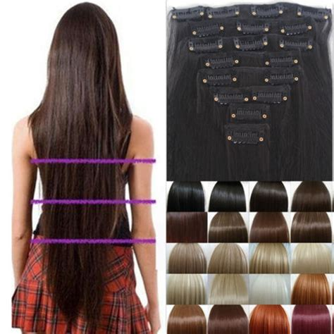cheap thick clip in hair extensions premium 170g 17 inch curly clip in hair