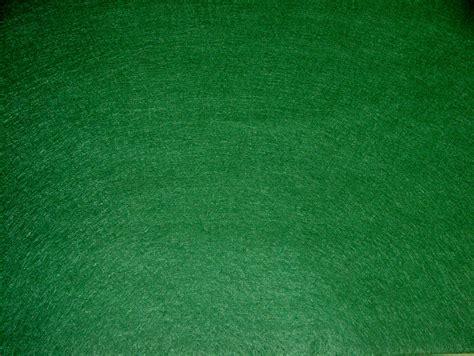 Green Velvet Upholstery Fabric Wool Mixed Felt Baize Green