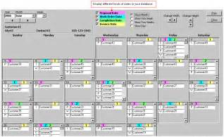 Ms Access Calendar Template by Free Microsoft Access Calendar Template Calendar