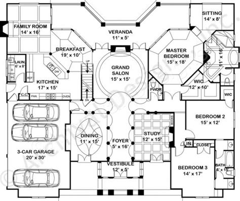 waterford residence floor plan waterford empty nester house plan ranch floor plans