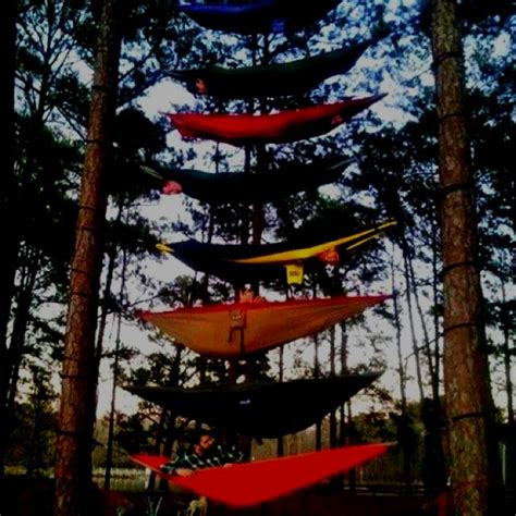 Bunk Bed Hammock Eno Hammocks Bunk Beds Gonna Try This On My Next Cing Trip Gotta Eno S Adventures