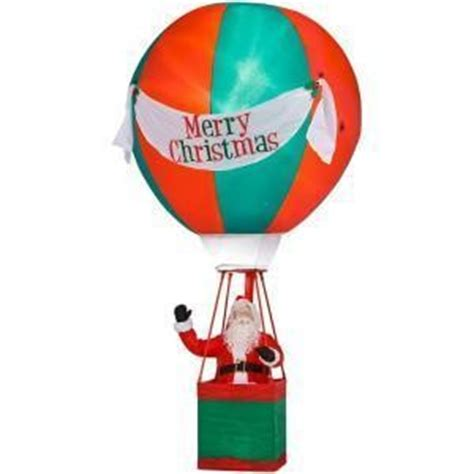 all outdoors christmas balloons 15 air balloon santa airblown outdoor decor decoration