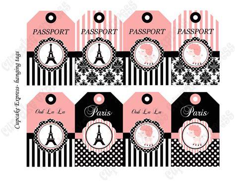 free printable paris party decorations instant download diy paris birthday printable by