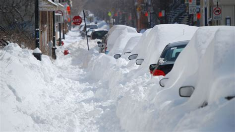 Worst Blizzard Ever Recorded by Top 10 Snowiest Cities In Canada Craveonline