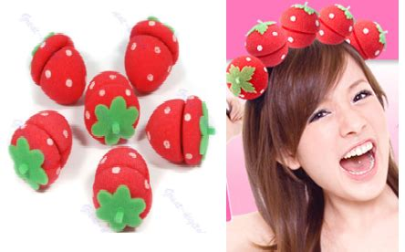 Curler Strawberry High 2 coskawaiiprincess knee high black strawberry hair curl iphone4 apple bumper