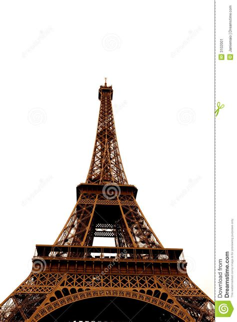 what color is the eiffel tower eiffel tower in single color stock image image 3102001