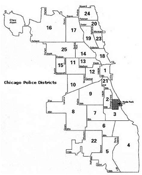 chicago district map chicago zones and districts hairstyles