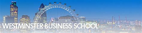 Westminster Mba Review by Westminster Business School Time Part Time