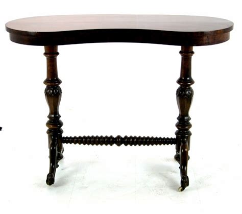 unusual side tables fabulous unusual early victorian kidney shaped side table